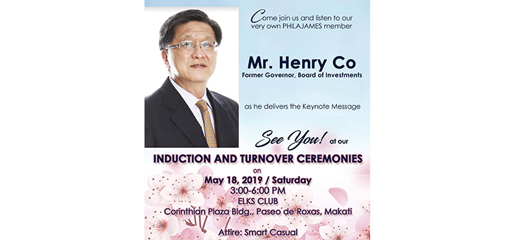 Ex BOI Gov. Henry Co to Deliver Keynote Message